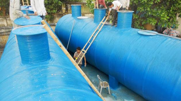 Xử lý nước thải phòng khám nha khoa